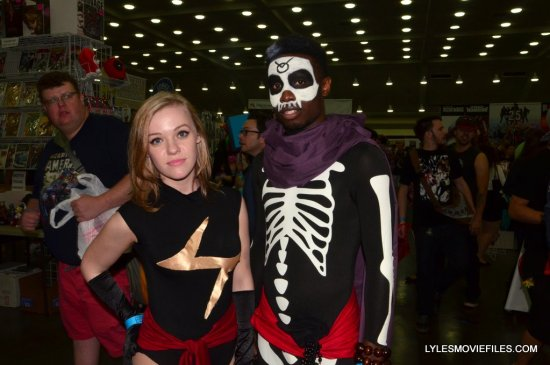 Baltimore Comic Con 2015 cosplay - Ms. Marvel and Brother Voodoo