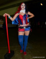 Baltimore Comic Con 2015 cosplay -New 52 Harley Quinn