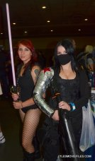 Baltimore Comic Con 2015 cosplay -Sith and Winter Soldier