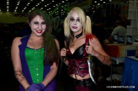 Baltimore Comic Con 2015 cosplay -The Joker and Harley Quinn
