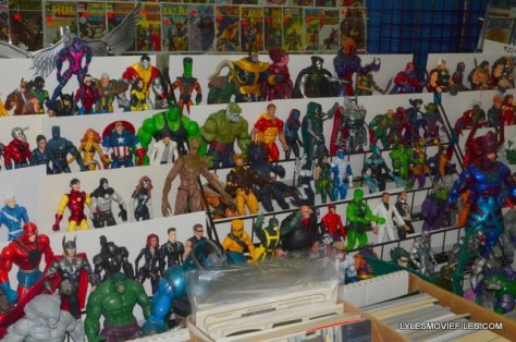 Baltimore Comic Con 2015 -Marvel Legends loose action figures