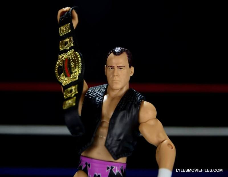 Dean Malenko WWE Elite 37 - holding the cruiserweight title