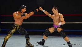 Dean Malenko WWE Elite 37 - locking up with Eddie Guerrero