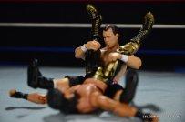 Dean Malenko WWE Elite 37 - sunset flip on Eddie Guerrero