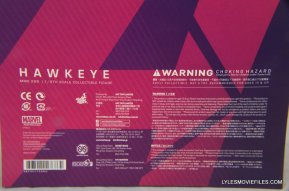 Hawkeye Hot Toys Avengers Age of Ultron - back package
