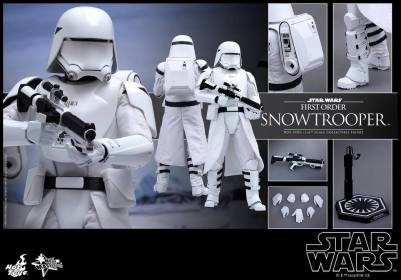 Hot Toys Star Wars Force Attacks - First Order Snowtrooper -collage