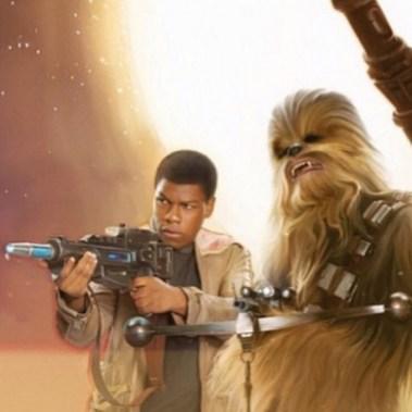 John-Boyega-and-Chewbacca-in-Star-Wars-Force Awakens