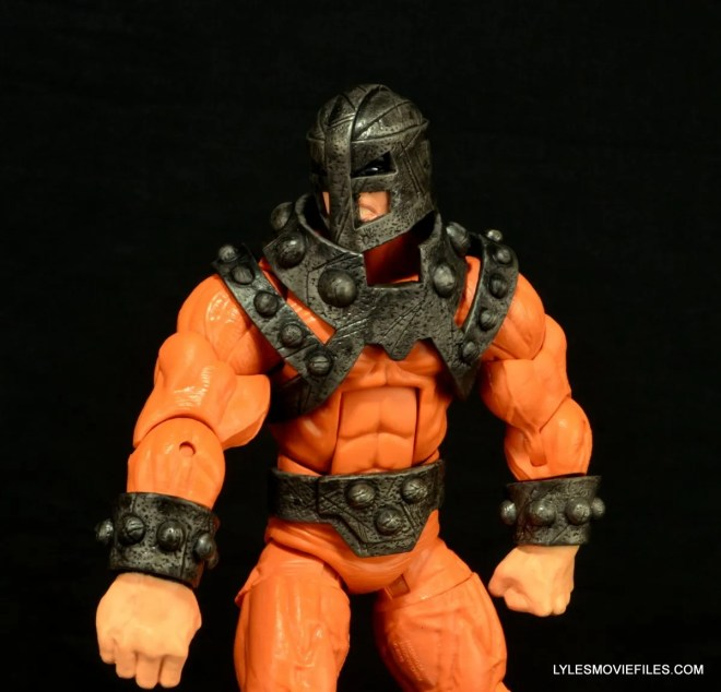 Marvel Legends Bulldozer review - side shot