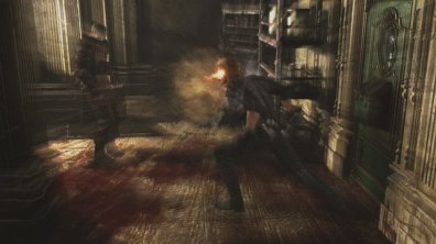 Resident Evil 0 - Albert Wesker attacks