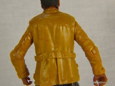 Star Wars Black Series - Finn review -back jacket