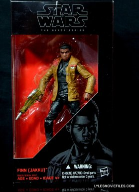 Star Wars Black Series - Finn review -front package