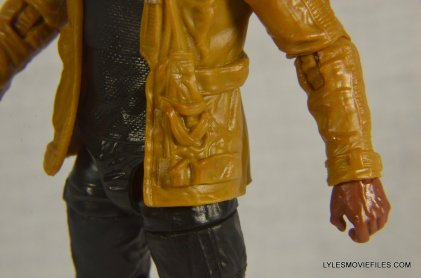 Star Wars Black Series - Finn review -left jacket detail