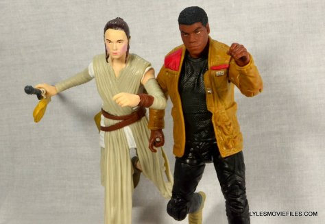 Star Wars Black Series - Finn review -running with Rey