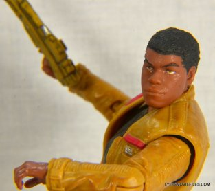 Star Wars Black Series - Finn review -side view
