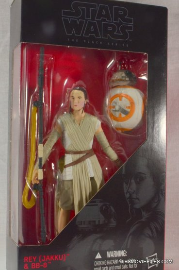 Star Wars Black Series Force Awakens Rey and BB-8 - front package