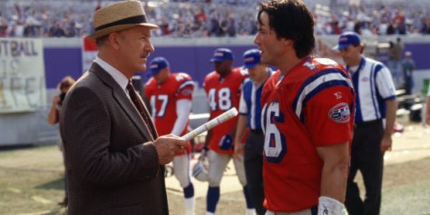 The Replacements - Gene Hackman and Keanu Reeves