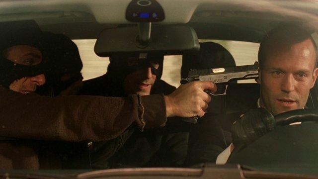 The Transporter - Jason Statham as Frank Martin making a run