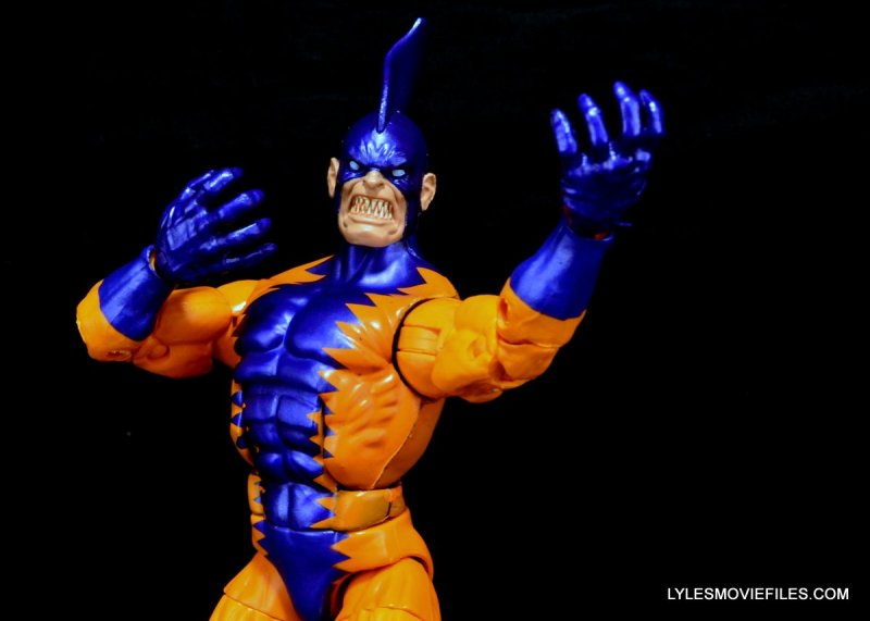 Tiger Shark Marvel Legends - claw hands up