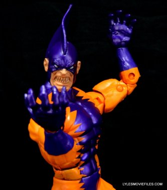 Tiger Shark Marvel Legends - close up
