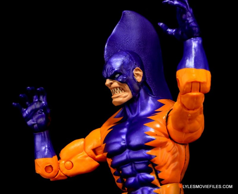 Tiger Shark Marvel Legends - left side