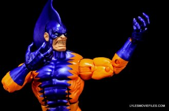 Tiger Shark Marvel Legends - side detail