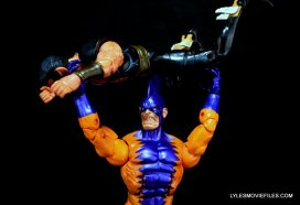 Tiger Shark Marvel Legends - tossing Namor