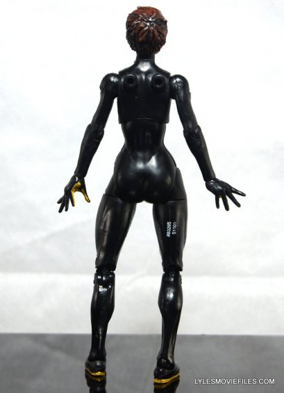 Wasp Marvel Legends figure review -rear