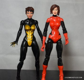 Wasp Marvel Legends figure review - with Toy Biz Marvel Legends 15 Wasp