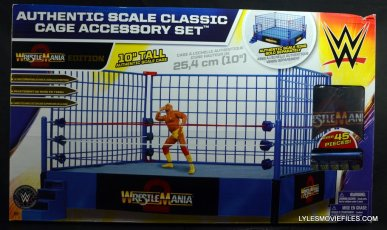 Wicked Cool Toys authentic classic cage - front package
