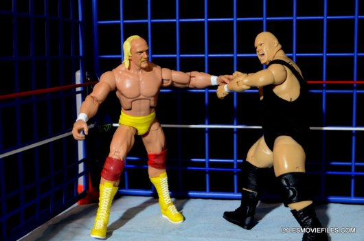 Wicked Cool Toys authentic classic cage -King Kong Bundy irish whips Hulk Hogan