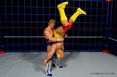 Wicked Cool Toys authentic classic cage -Mr Wonderful piledriving Hogan