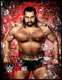 WWE 2K16 -Rusev
