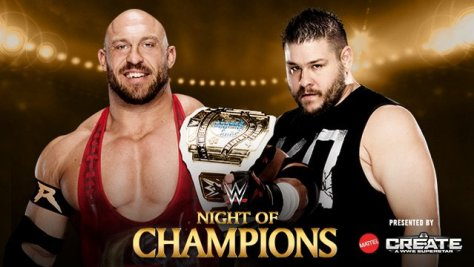 WWE Night of Champions - Ryback vs Kevin Owens