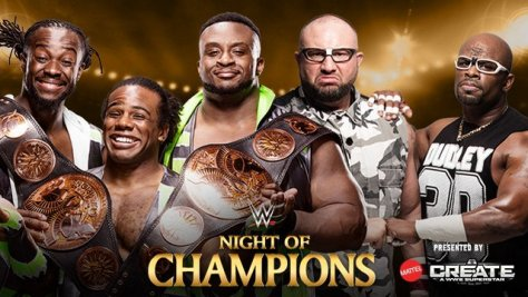 WWE Night of Champions - The New Day vs. The Dudley Boyz