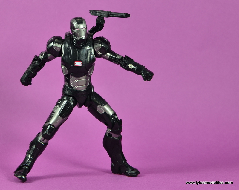 Marvel Legends Age of Ultron War Machine figure review - battle ready