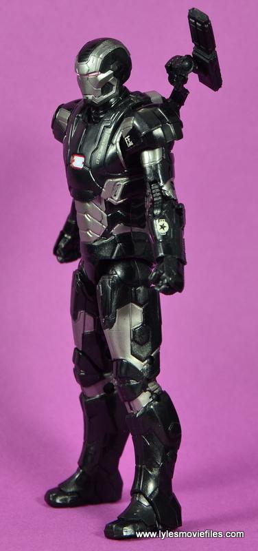 Marvel Legends Age of Ultron War Machine figure review - left side