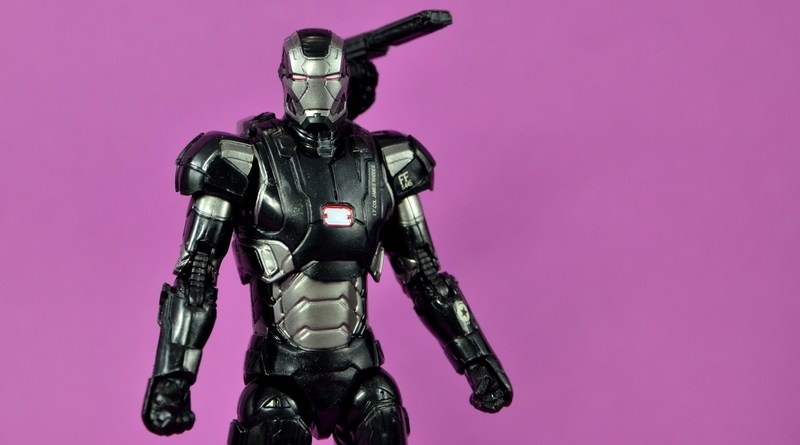 Marvel Legends Age of Ultron War Machine figure review - main pic