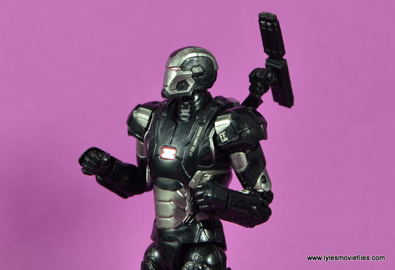 Marvel Legends Age of Ultron War Machine figure review - ready to fly