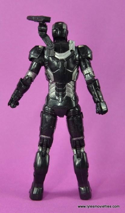 Marvel Legends Age of Ultron War Machine figure review - rear