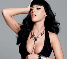 Katy Perry black outfit