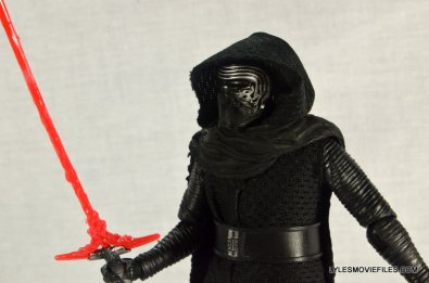 Kylo Ren Force Awakens Star Wars Black Series -left side