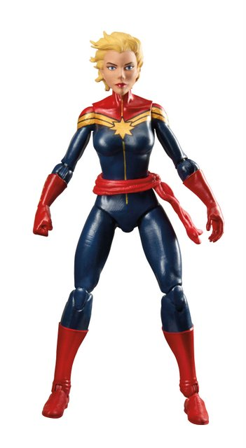 Marvel Legends 3' Captain Marvel full