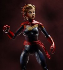 Marvel Legends 3' Captain Marvel promo