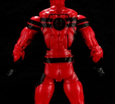 Marvel Legends Giant Man figure review -figure rear