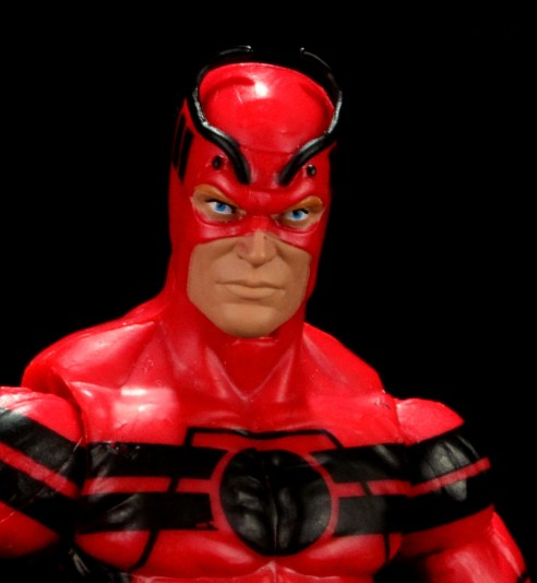 Marvel Legends Giant Man figure review - head close up
