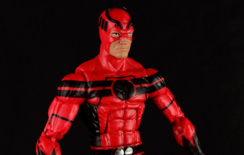 Marvel Legends Giant Man figure review -right side wide