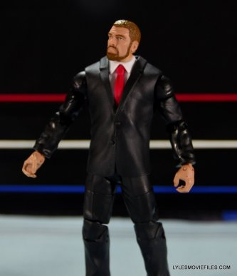 Mattel WWE Battle Pack - Triple H vs Daniel Bryan -front view of suit