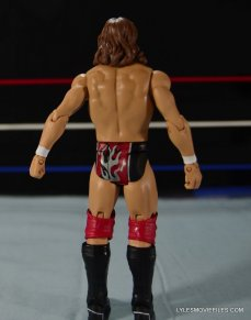 Mattel WWE Battle Pack - Triple H vs Daniel Bryan -rear view Daniel Bryan