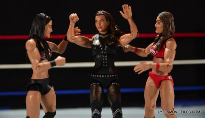 Mattel WWE Elite 37 Stephanie McMahon -caught between Brie and Nikki Bella