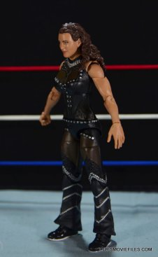 Mattel WWE Elite 37 Stephanie McMahon -left side detail